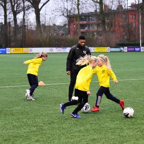 Voetbal maneuvres GS Sports